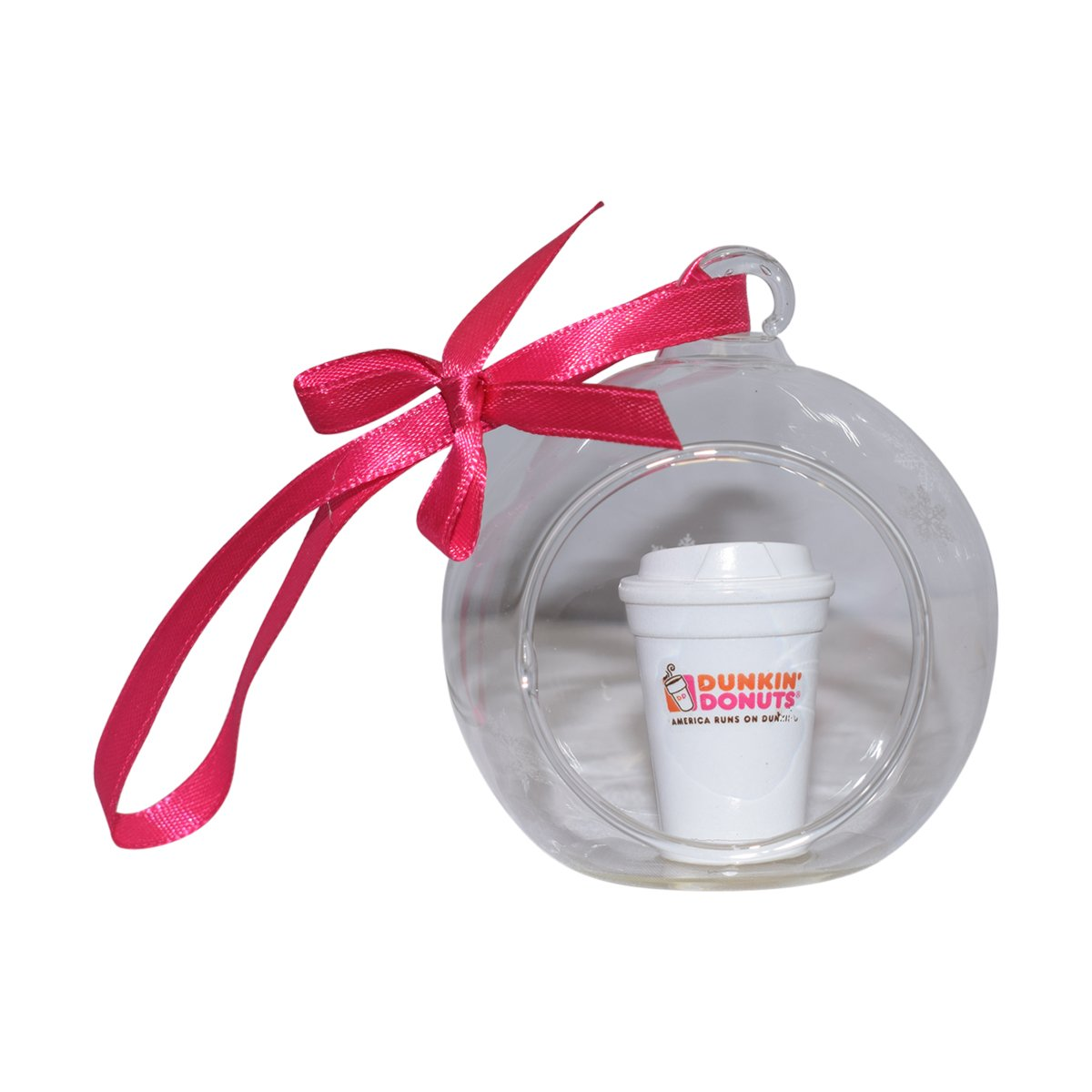 Dunkin Donuts Limited Globe Coffee Cup Christmas Ornament for Hoiday Decoration