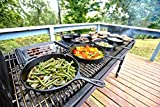 Lodge Pre-Seasoned Cast Iron Griddle With Easy-Grip