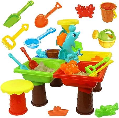 Niños Playa Juguetes de Arena, Juego completo Juego de juguetes para la arena Juego de juguetes
