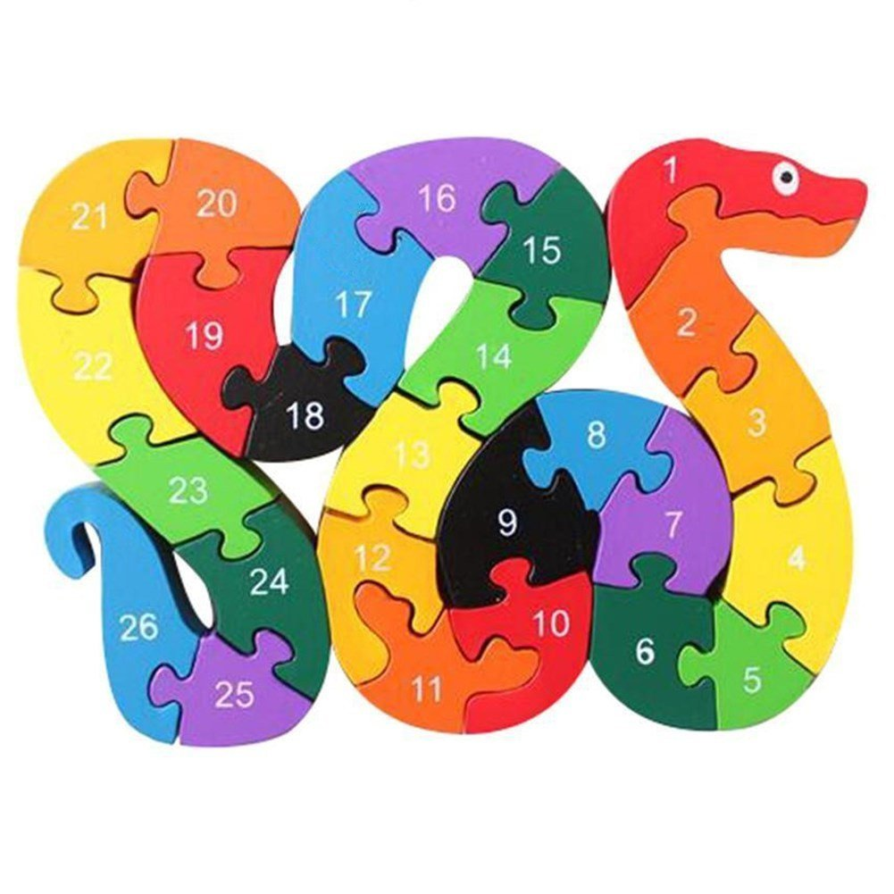 Baby & Toddler Toys Teaching Clocks KEYNEW Colorful Wooden