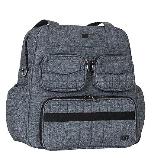 Lug Women's Puddle Jumper Overnight/Gym Bag, Heather Grey Duffel, One Size