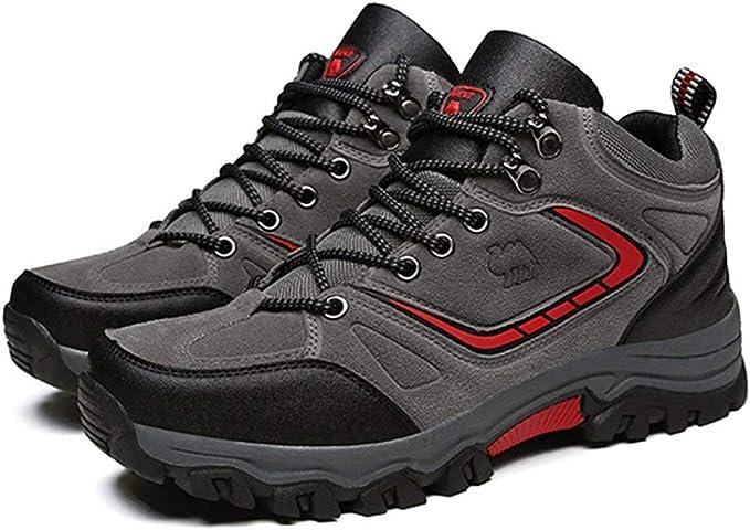 Aumentando los zapatos de senderismo, botas de montaña para los ...