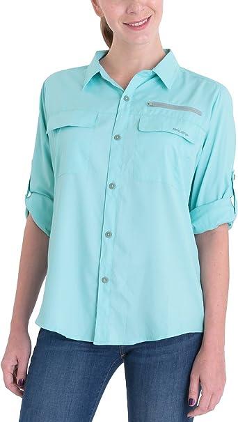 Sun ProtectionLong Sleeve Shirt Breathale Fishing Shirts BALEAF Womens Lightweight Quick Dry UPF 50