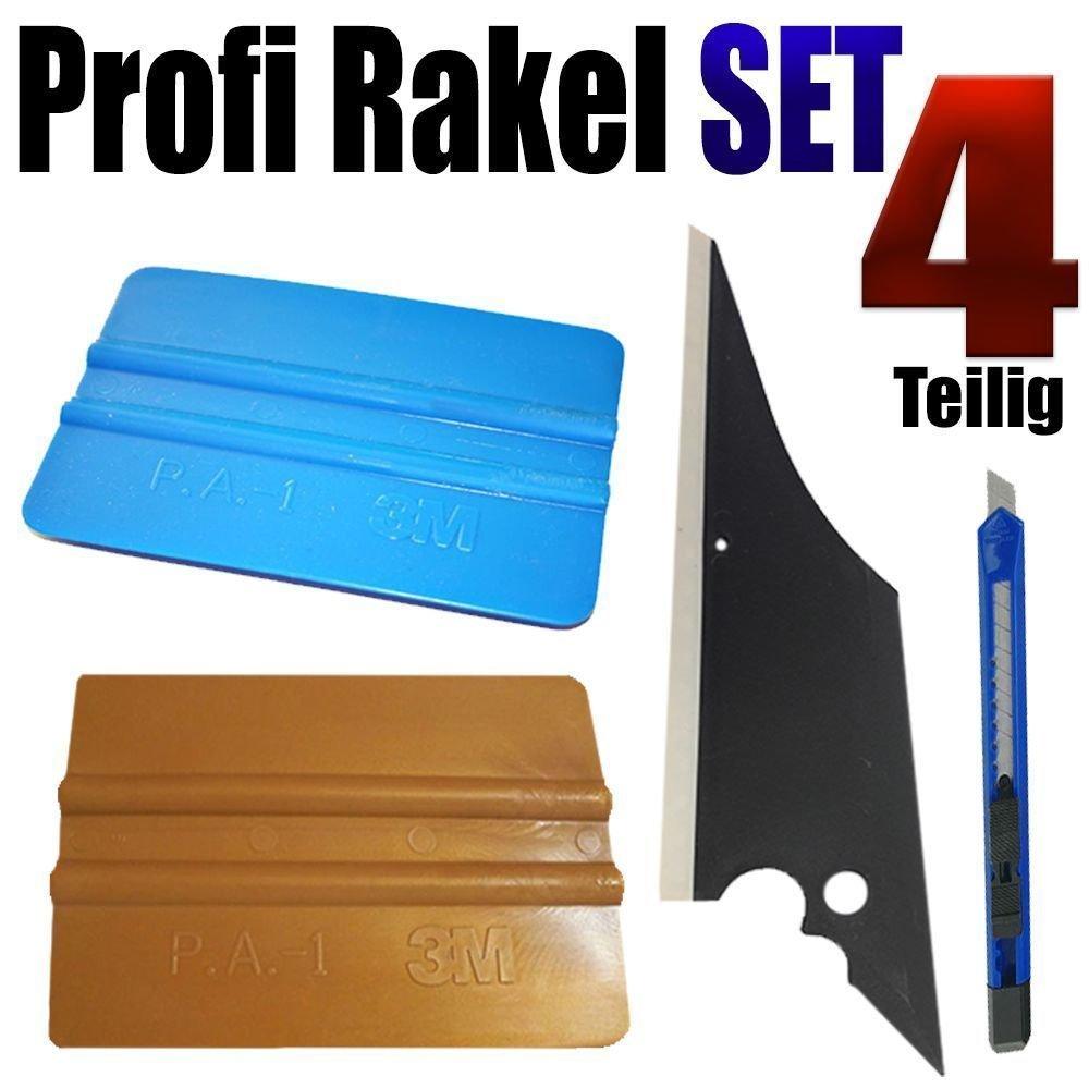Profi Rakel 4-teilig perfekt Scheiben T/önen Folierung Folien Rakel Set