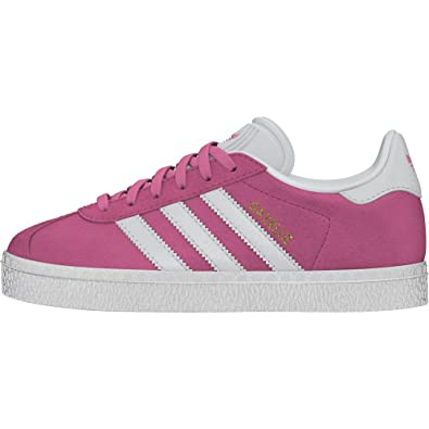 Adidas Gazelle C Basket Mode Mixte Enfant, Rose (Rossen/Ftwbla/Ftwbla)