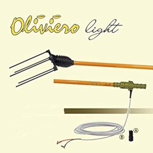Vareador para aceitunas de batería Oliviero Light: Amazon.es ...
