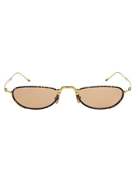 descuento en venta colección completa garantía de alta calidad Thom Browne Hombre Tbs9135001goldtortoise Oro Metal Gafas De ...