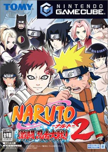 Naruto: Gekitou Ninja Taisen 2 - Japanese GameCube - Gekitou Ninja Taisen