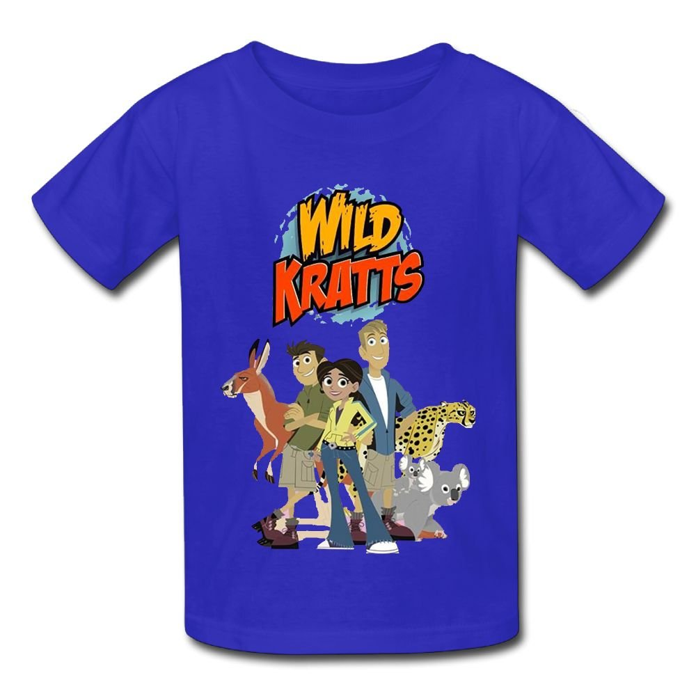 Vito H Jackson 6-24 Month Baby T-Shirt Wild Kratts Logo Personalized Fashion Customization RoyalBlue