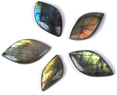 Labradorite Cabochon Loose Gemstones Pendent Excellent Hand Making Shape Oval Weight 74 ct Size 38x23mm #A-216