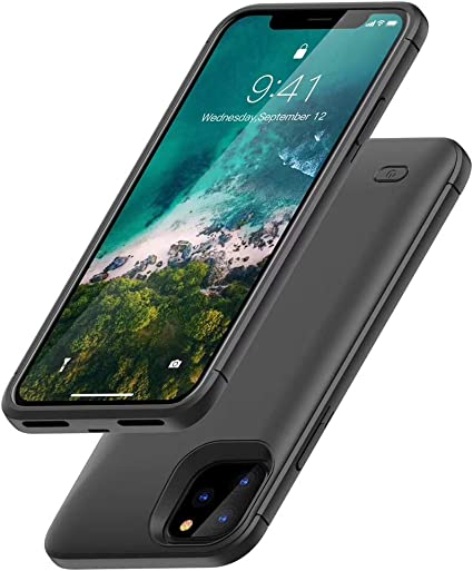 Amazon.com: HONTECH - Funda con batería para iPhone 11 Pro ...