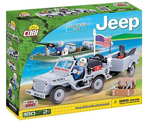 (COBI Jeep Willys MB US Navy)