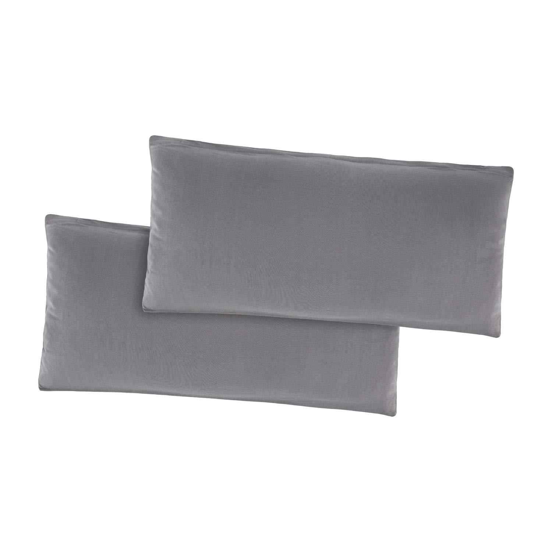 Bordeaux Basatex Confezione da federe Cuscino Federa per Cuscino Cuscino Boomerang 100/% Cotone Molti Colori e Misure 40 x 40 cm Cotone