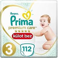 Prima Premium Care Külot Bebek Bezi 3 Beden Midi Süper Fırsat Paketi, 112 Adet