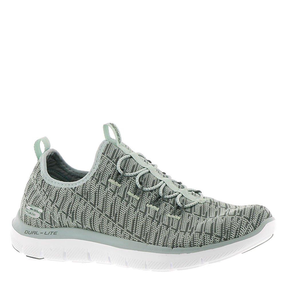 Skechers Women's Flex Appeal 2.0 Insight Sneaker B07CZ723PT 9 B(M) US|Sage