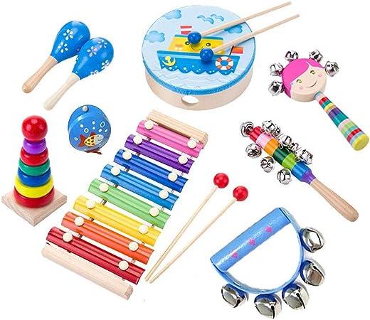 ele ELEOPTION Instrumentos musicales para niños, juguetes ...