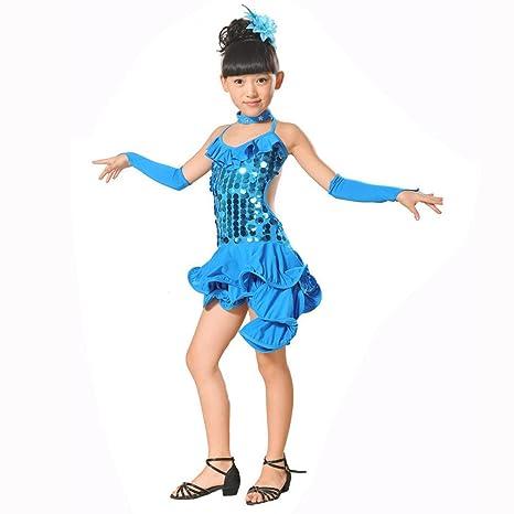 70fe109f2f27 Iuhan Toddler Kids Girls Fashion Style Latin Ballet Spandex Dress ...