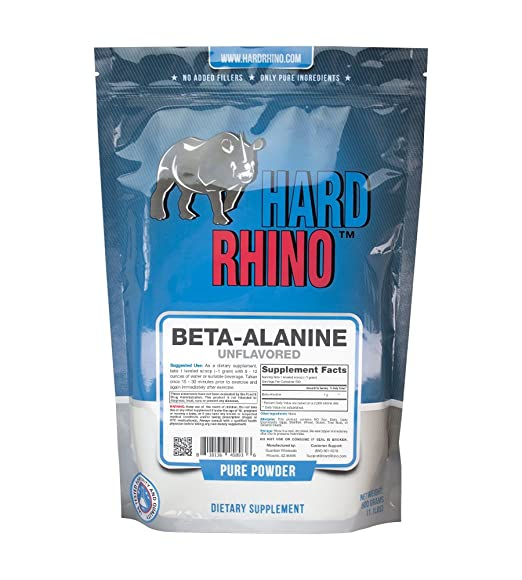 Hard Rhino Beta Alanine Powder
