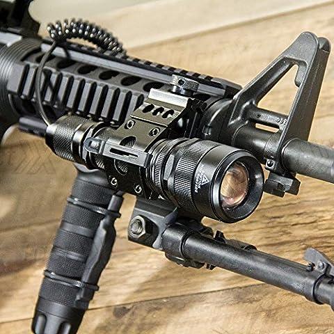 LM500 ELITE Tactical Flashlight for AR-15 Retrofit w/Remote Switch & Mount - Ar 15 Tactical Flashlights