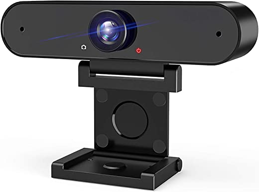 HD 1080P USB Web Camera: Webcam with Microphone & HD Computer Privacy Cover Cam for Desktop Laptop Streaming | Video Conference Compatible – Zoom | Skype | Facetime | YouTube