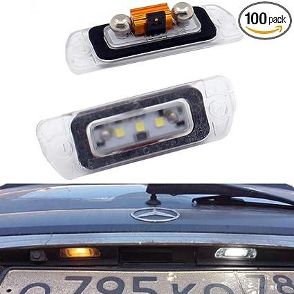 Ml500 Benz Ml450 Gl320 2pcs Gl450 Mercedes W164 Led Free Amg Error Ml350 Lamp License Gl350 Rear Xinctai W251 Ml320 Plate Light Gl550 For X164 Gl500 1TK3clFJ