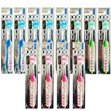 import Toothbrush Teeth Gums Massage 12pac 68 Rich Hairs Easy Grip (Japan import)
