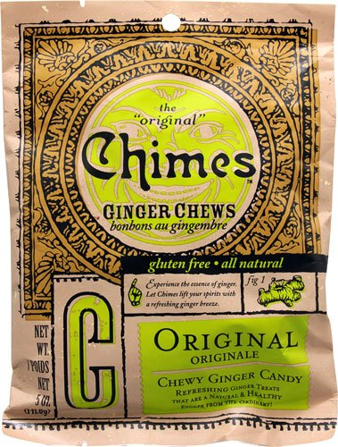 Chimes Ginger Chews Original -- 5 oz - 2 pc