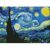 "Labellevie Needlecrafts Stamped Cross Stitch Kit Van Gogh'S Starry Sky 23""×17"""