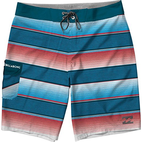 Billabong Pops (Billabong Baby Little Boys' Original Boardshorts, Red, 2T)