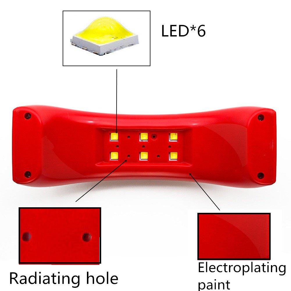Nageltrockner Nagellacktrockner CIDBEST® Professional USB Mini Nail ...