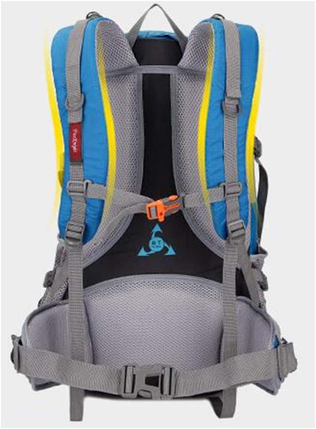 45L Outdoor Waterproof Large Capacity Mountaineering Bag Hiking Couple Backpack Color : Red Camping Bag Sports Backpack Qingduqijian Backpack