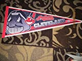 cleveland Indians full Pennant two heads bx 2