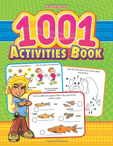 Activity Book For Preschoolers