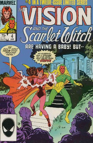 The Vision and the Scarlet Witch #4 : Mutant Romance Tales (Marvel Comics)