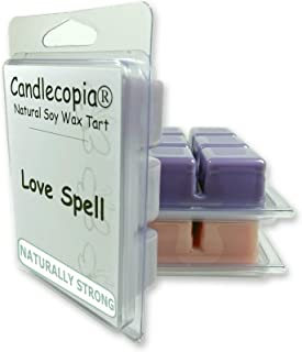product image for Candlecopia Evening Bath, Pink Sugar and Love Spell Strongly Scented Hand Poured Vegan Wax Melts, 18 Scented Wax Cubes, 9.6 Ounces in 3 x 6-Packs