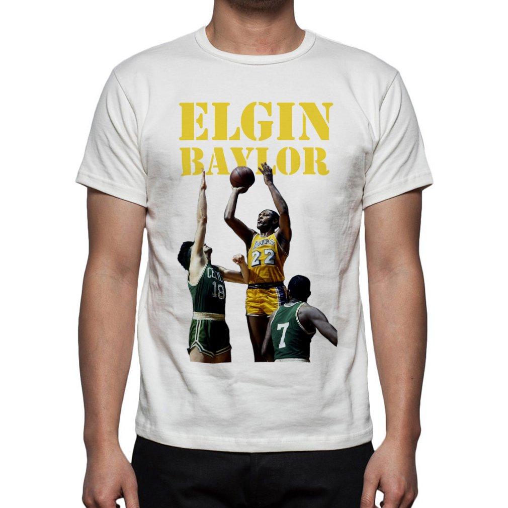 S Basketball Elgin Baylor Tribute Tshirt