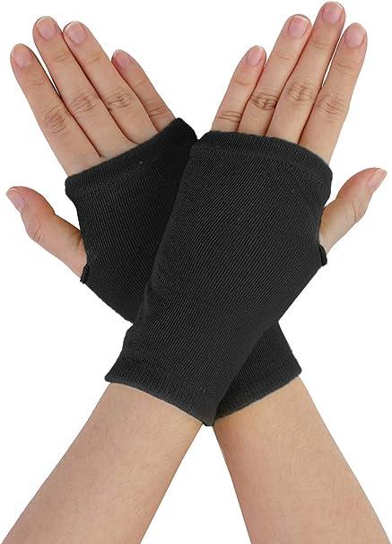 Anaisy 1Paar Damen Elastisch Fischnetz Ellenbogen Fingerlos Handschuhe Warmer Arm Handschuh Jungen Fingerlos F/äustlinge Women