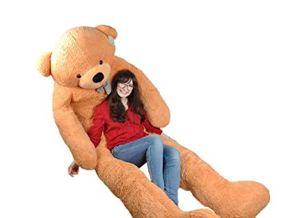 770124c5ed8 Image Unavailable. Image not available for. Color  NEW Giant 118 quot  300cm  Teddy Bear ...