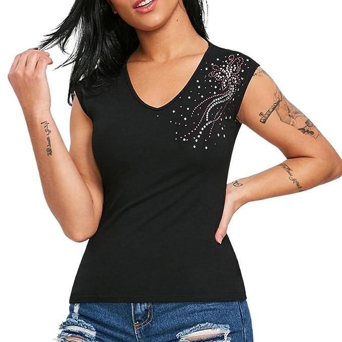JYC Camiseta Personalizada,2018 Nuevo Blusas Para Mujer,Vaquera Gasa Camisetas Mujer, Moda