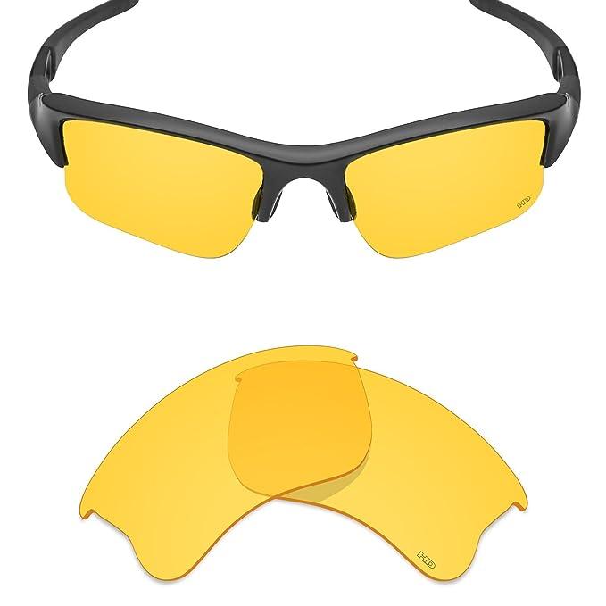 9d95bb531e71 Mryok+ Polarized Replacement Lenses for Oakley Flak Jacket XLJ - HD Yellow