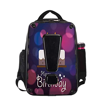 IPrint Pet Travel Carrier BackpackBreathable20th Birthday DecorationsTwenty Cake Cartoon
