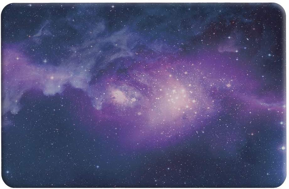 CHAJIJIAO Ultra Slim Case for MacBook Air 11.6 inch Starry Sky Patterns Apple Laptop Water Decals PC Protective Case Phone Back Cover (Color : Blue)