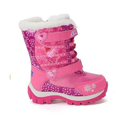 3c05f40f09d3 Peppa Pig Toddler Girls  Winter Boots