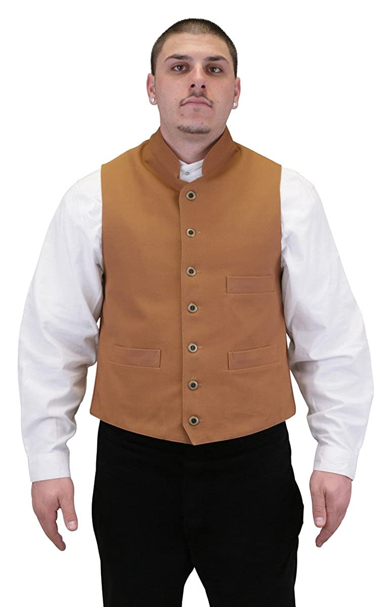 Historical Emporium Men's Commander Cotton Work Vest 003869