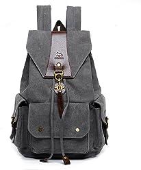 c8b83874c209 MANJIANGHONG Retro Male Female Outdoor Canvas Big Travel Backpack Fashion  Backpack