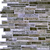 Grey Flagstone PVC 3D Wall Panels - Interior Design Wall Paneling Decor Commercial and Residential Application, Stone Brick, 3.2' x 1.6'
