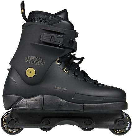 Black Gold Razors Cult Street Gold Aggressive Skates