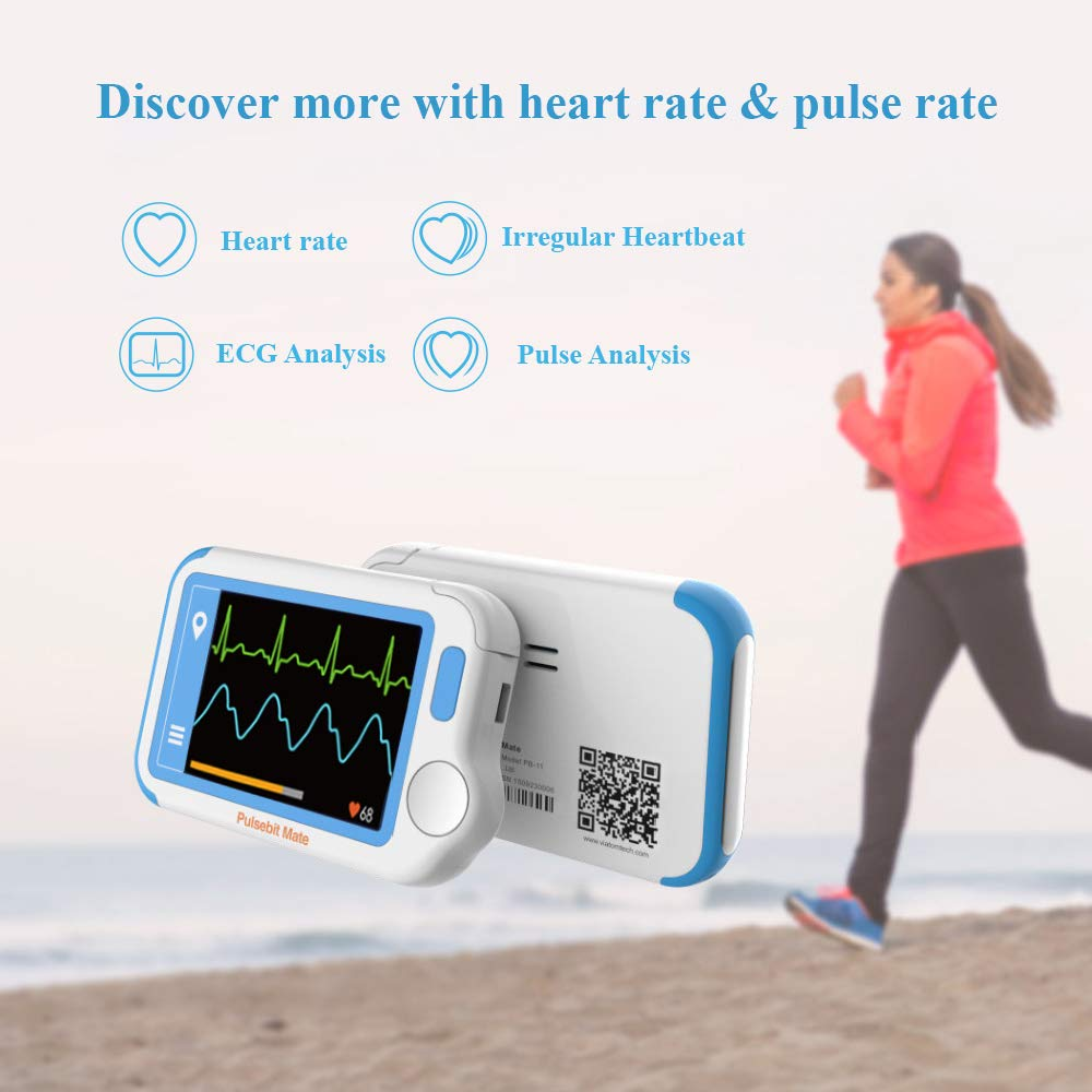 ECG/EKG Heart Health Tracker, Portable Heart Rate Monitor with PC Software, Household Heart Performance for Fitness & Sport, General Wellness Use by ViATOM (Image #8)