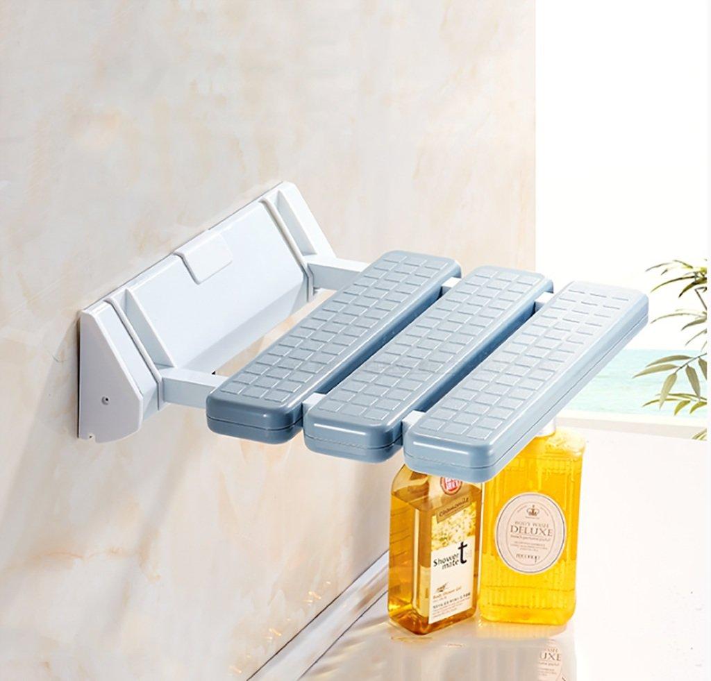 新しい バスルームシャワー折りたたみチェアシートバスルームスリップバスウォールチェアウォールチェアウォールスツール Gray (色 : : (色 Gray) Gray B07GH4L2B8, サドワラチョウ:a0caa758 --- efichas.com.br