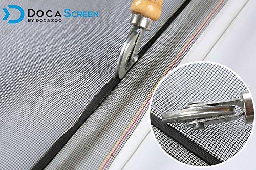 "DocaScreen Standard Window Screen Roll – 60"" x 100' Fiberglass Screen Roll – Window, Door and Patio Screen – Insect Screen//Fiberglass Screening//Screen Replacement//Window Screens by DOCAZOO (Image #8)"